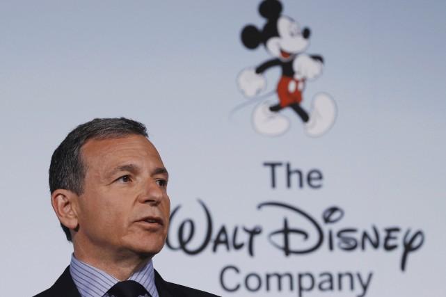 Le PDG de Disney, Robert Iger... (Photo GARY CAMERON, archives Reuters)