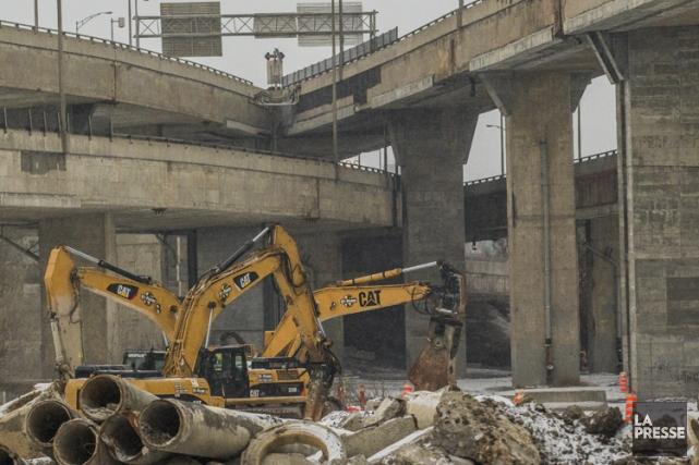 Les enquêteurs s'étaient intéressés au mégaprojet de l'échangeur... (PHOTO OLIVIER PONTBRIAND, ARCHIVES LA PRESSE)