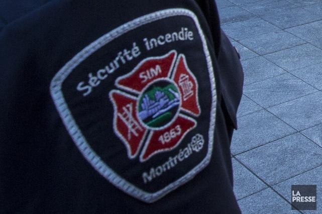 Une résidence a été la proie des flammes mardi matin, dans le nord-est de... (Photo archives La Presse)