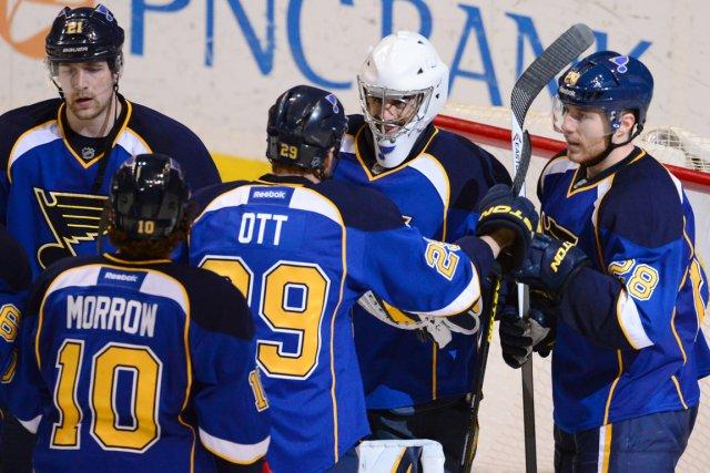 La direction des Bluesde St. Louis croit que... (Photo Jasen Vinlove, USA Today)