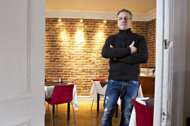 Patryck Thévenard, propriétaire du gîte Atmosphère, à Montréal....