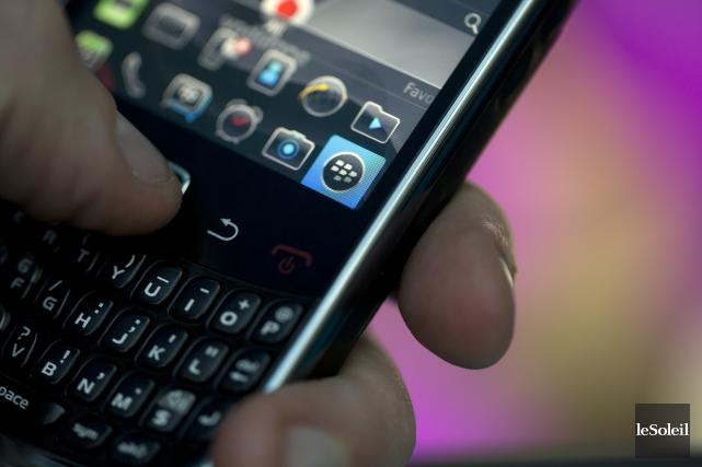 BlackBerry (T.BB) a annoncé mardi l'acquisition, pour un... (Photothèque Le Soleil)