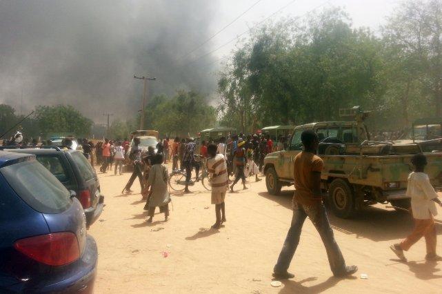 Onze personnes, dont cinq policiers, ont été tuées au cours de deux explosions... (Photo Archives AFP)