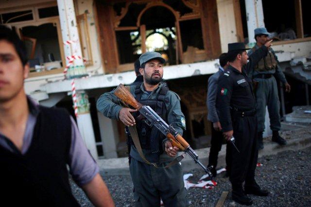 L'attaque s'est déroulée dans un bureau régional de... (PHOTO AHMAD MASOOD, REUTERS)