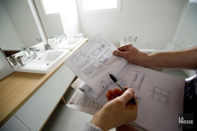 Dans le cas d'une rénovation, l'emprunt doit atteindre... (PHOTO ALAIN ROBERGE, LA PRESSE)