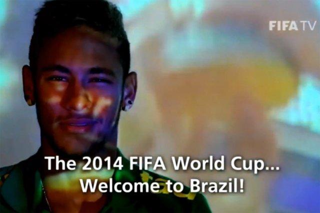 Edu Krieger s'adresse entre autres à Neymar (notre... (Image: tirée de YouTube)