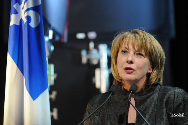 La candidate libérale Christine Saint-Pierre... (Photo Steve Deschenes, Le Soleil)