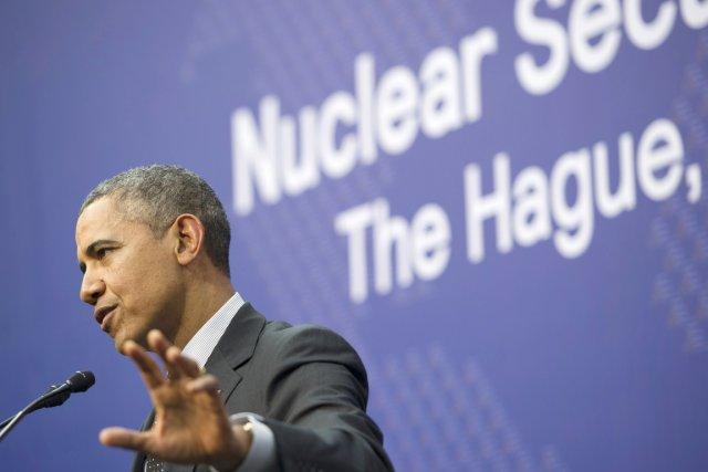 La lutte contre la menace terroriste nucléaire est... (PHOTO SAUL LOEB, AFP)