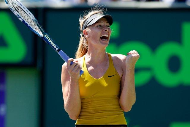 Maria Sharapova... (Photo Geoff Burke, USA Today)