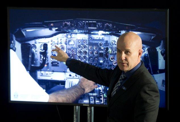 Le BST révèle que les deux pilotes ont... (Photo Adrian Wyld, PC)