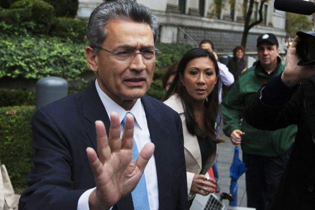 RajatGupta, ancien administrateur de la banque Goldman Sachs,... (PHOTO LUCAS JACKSON, ARCHIVES REUTERS)