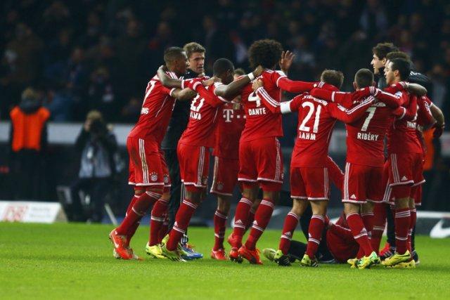 Deux mois avant la fin de la saison régulière, le Bayern de Munich peut déjà... (Photo: Reuters)