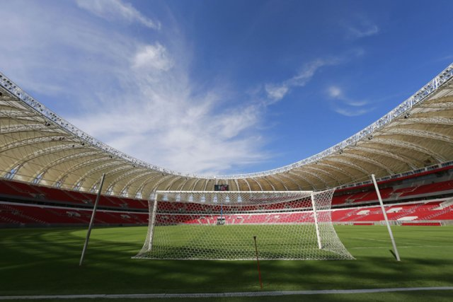 Le stade de Beira Rio à Porto Alege... (Photo: AFP)