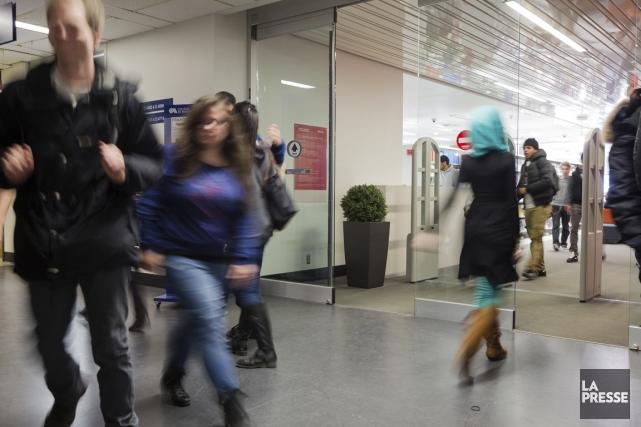 Au Collège de Maisonneuve, où 85% des élèves... (PHOTO EDOUARD PLANTE-FRÉCHETTE, LA PRESSE)