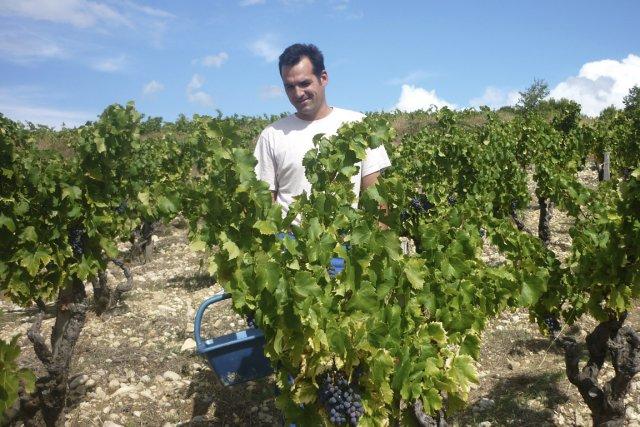 Le vigneron Jérôme Bressy est l'un des «Turbulents»,... (Photo fournie par le vigneron)