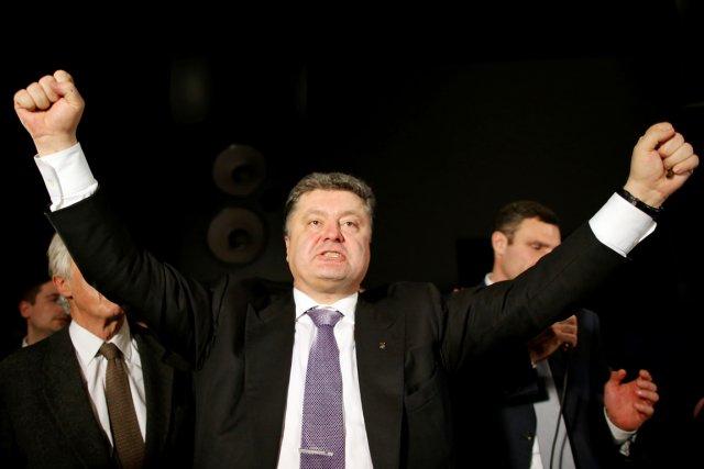 Petro Porochenko est le seul oligarque ukrainien à... (PHOTO KENZO TRIBOUILLARD, ARCHIVES AFP)