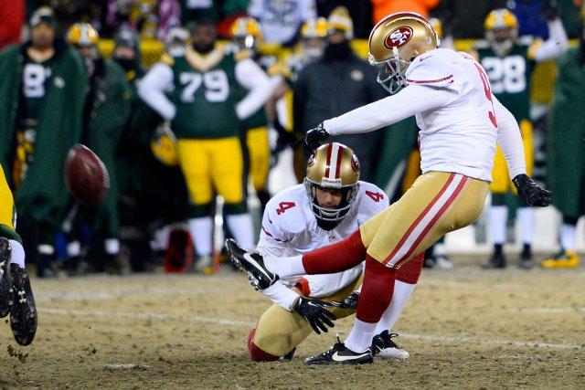 La NFL va tenter l'expérience de procéder aux convertis d'un point de la ligne... (Photo Mike DiNovo, USA Today)
