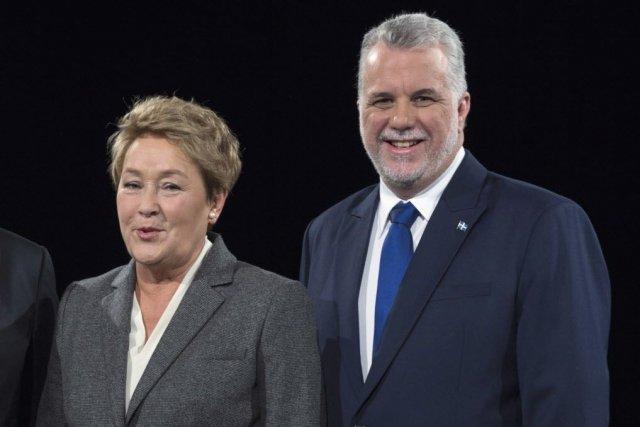 Le chef du Parti libéral du Québec, Philippe... (Photo Paul Chiasson, La Presse Canadienne)