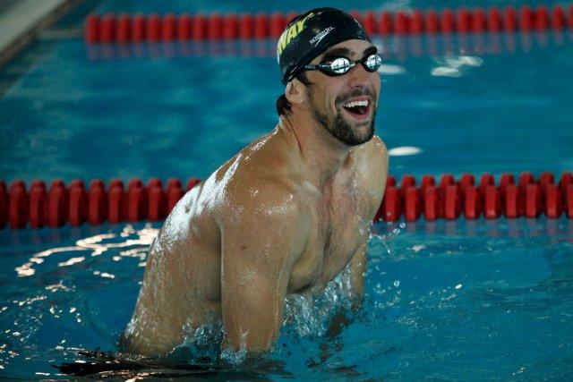 Michael Phelps... (Photo Eduardo Munoz, archives Reuters)