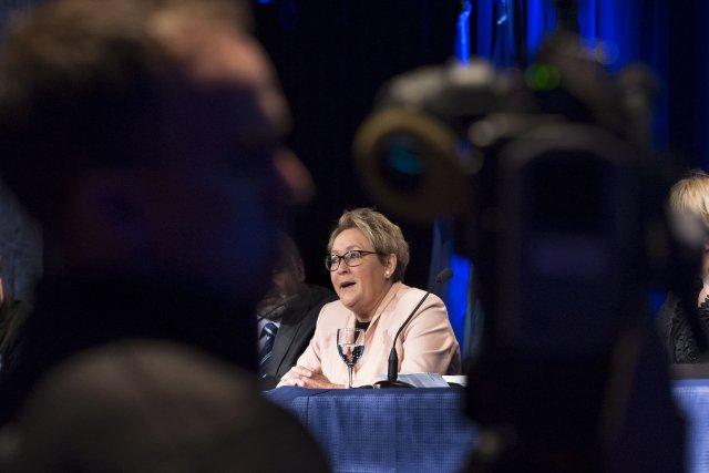 «Jamais je n'accepterai que le Parti québécois soit... (Photo Paul Chiasson, PC)