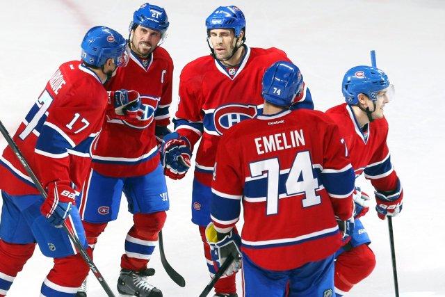 Daniel Brière (à droite) forme une bonne troisième... (Photo Jean-Yves Ahern, USA Today)