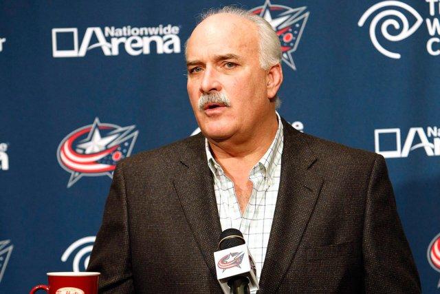 Le président des opérations hockey des Blue Jackets... (Photo AP)