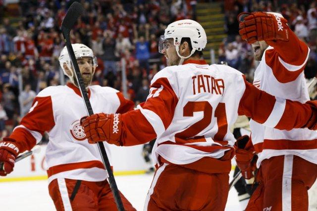 Depuis la pause olympique, les Red Wings ont... (Photo: Reuters)