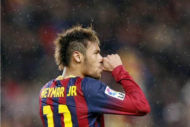 Neymar... (Photo: Reuters)