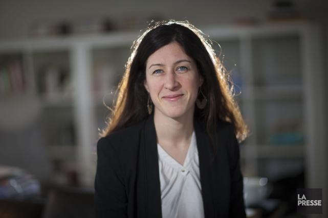 Joëlle Charpentier, présidente de Charpentier Maletto, entreprise spécialisée... (PHOTO ANDRÉ PICHETTE, LA PRESSE)