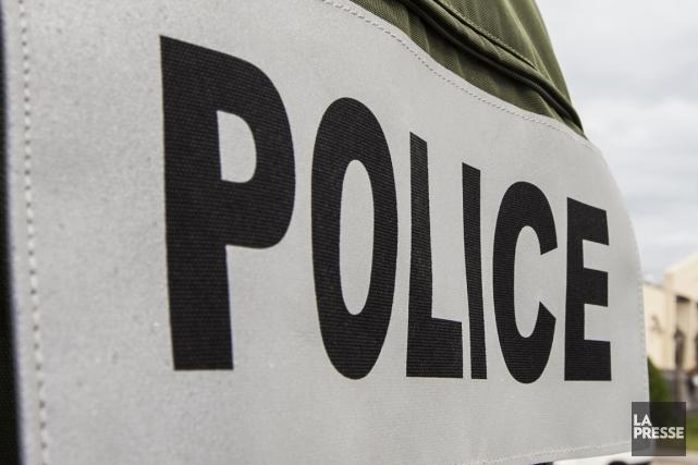 Un carambolage impliquant un camion-remorque et neuf autres véhicules a fait... (Photo archives La Presse)