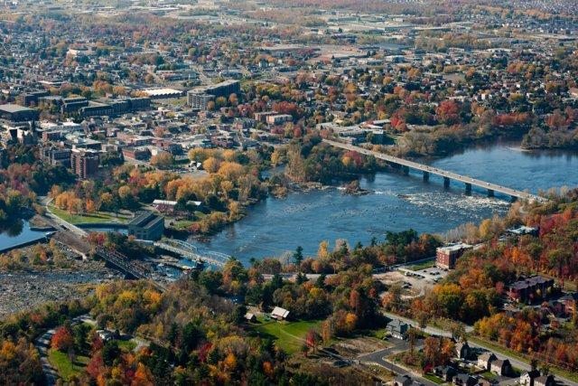 Le Centre-du-Québec est partagé entre son identité urbaine,... (PHOTO FOURNIE PAR LA VILLE DE DRUMMONDVILLE)