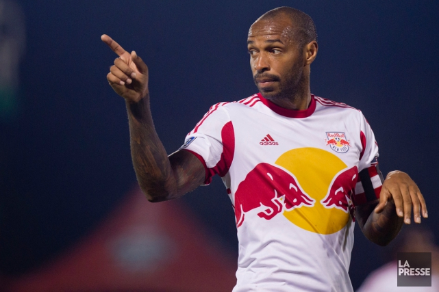 Thierry Henry... (Photo Olivier Jean, La Presse)