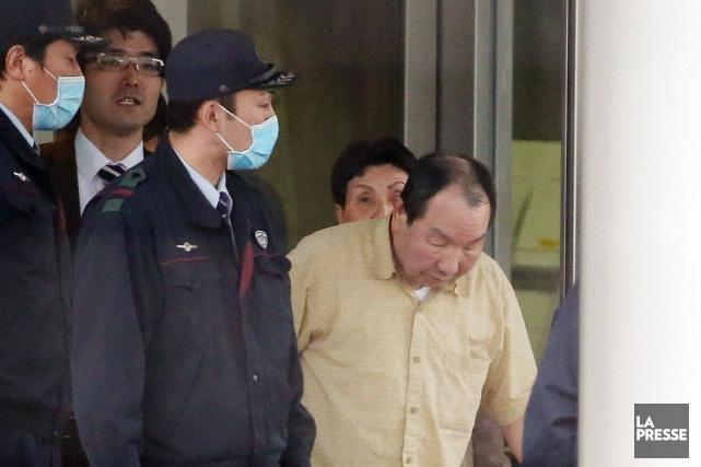 Iwao Hakamada, aujourd'hui âgé de 78 ans,a été... (Photo JIJI PRESS, AFP)
