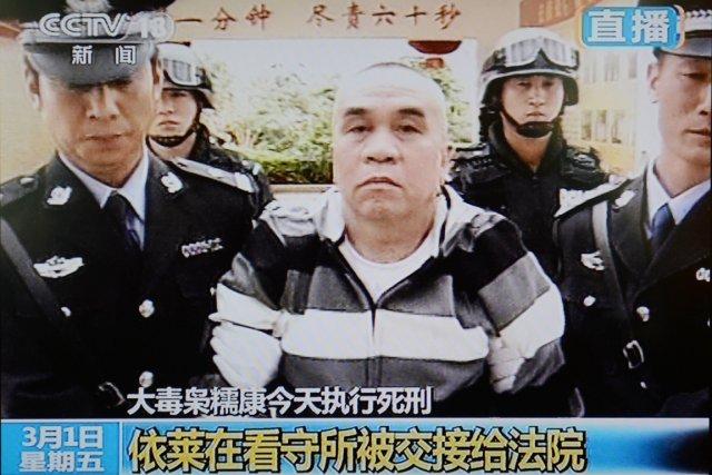 Reconnu coupable de meurtre, Yi Lai est transféré... (IMAGE AFP/CCTV)