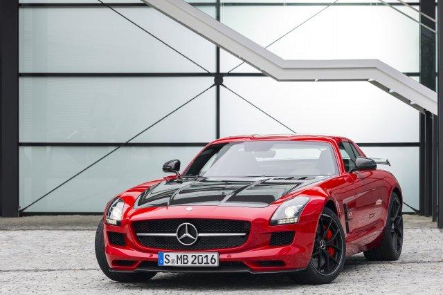 La Mercedes SLS AMG Final Edition... (Photo fournie par Mercedes-Benz)