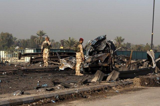 Les violences en Irak sont alimentées par le... (Photo AHMED SAAD, AFP)