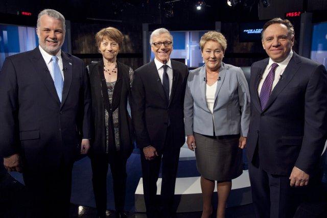Relisez le clavardage du débat des chefs avec notre journaliste Judith... (Photo TVA)