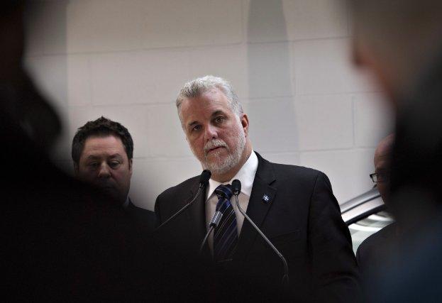 Philippe Couillard est la plus récente victime de... (Photo Jacques Boissinot, La Presse Canadienne)