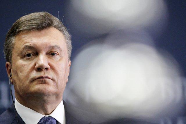 M.Ianoukovitch, qui a fui l'Ukraine en février et... (PHOTO DARKO VOJINOVIC, ARCHIVES AP)