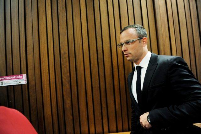 Le témoignage de Pistorius est d'autant plus attendu... (PHOTO WERNER BEUKES, AFP)