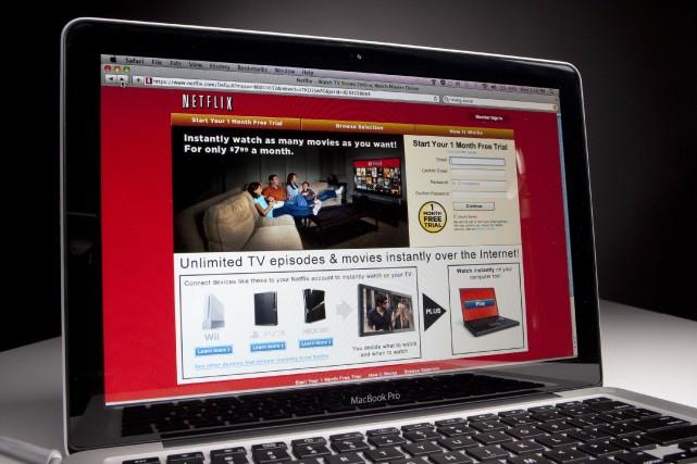 «La décision de Netflix d'aborder le marché français... (Photo: Scott Eells, archives Bloomberg)