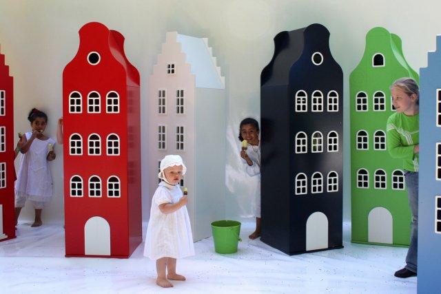 Inspirés de l'architecture des maisons néerlandaises, les armoires... (Photo fournie par the Modern Shop)