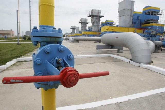 L'Allemagne importe 35% de son gaz naturel de... (PHOTO GLEB GARANICH, ARCHIVES REUTERS)