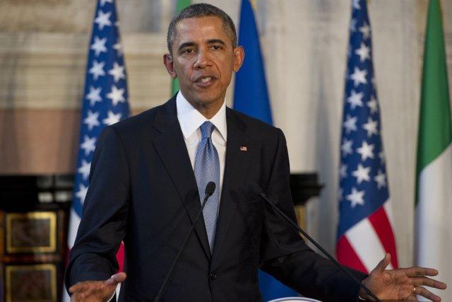 Le président américain Barack Obama.... (Photo Saul Loeb, AFP)