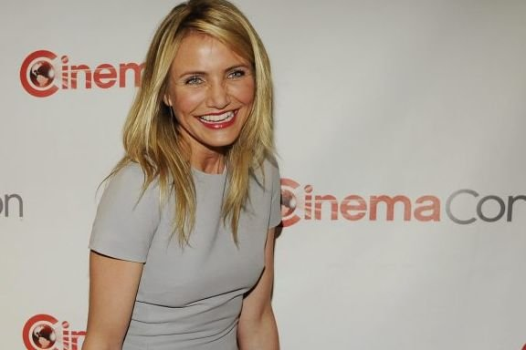 Cameron Diaz au CinemaCon à Las Vegas.... (Photo: AP)