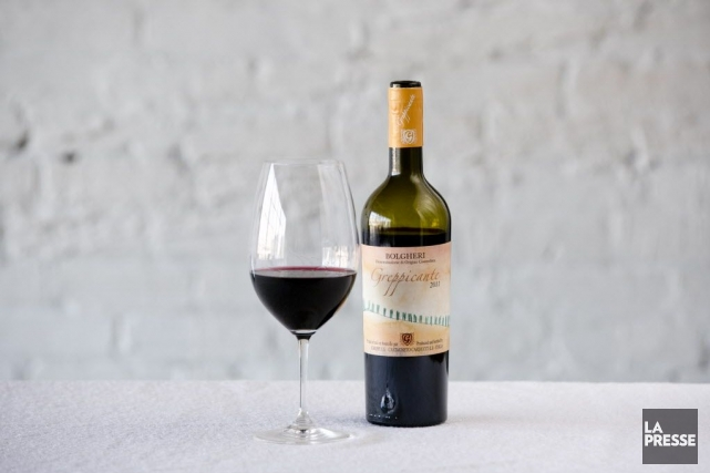Très coloré sans qu'il soit opaque, ce vin rouge d'une des appellations... (Photo David Boily, La Presse)