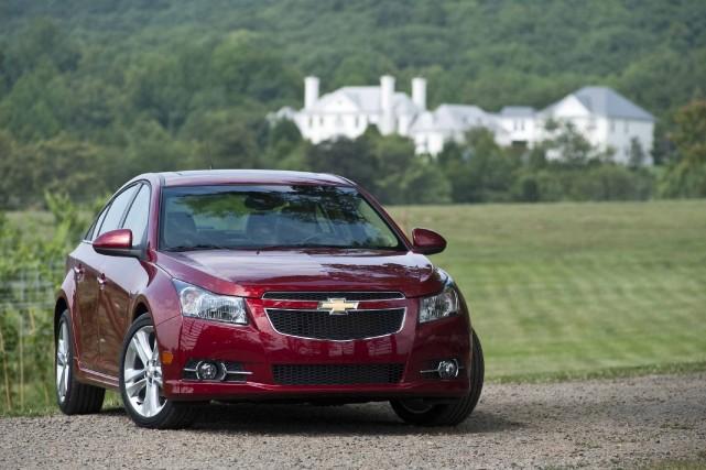 La Chevrolet Cruze... (Photo fournie par General Motors)