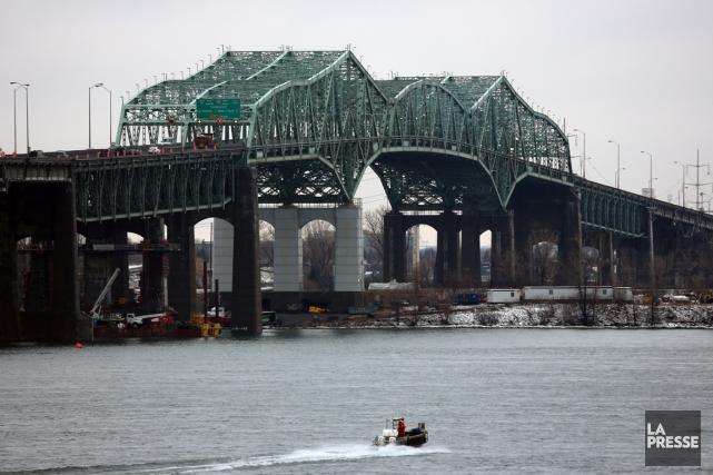 Le pont Champlain... (Photo Martin Chamberland, archives La Presse)