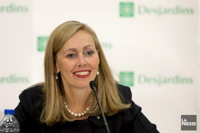Monique Leroux,présidente et chef de la direction du... (PHOTO ALAIN ROBERGE, ARCHIVES LA PRESSE)