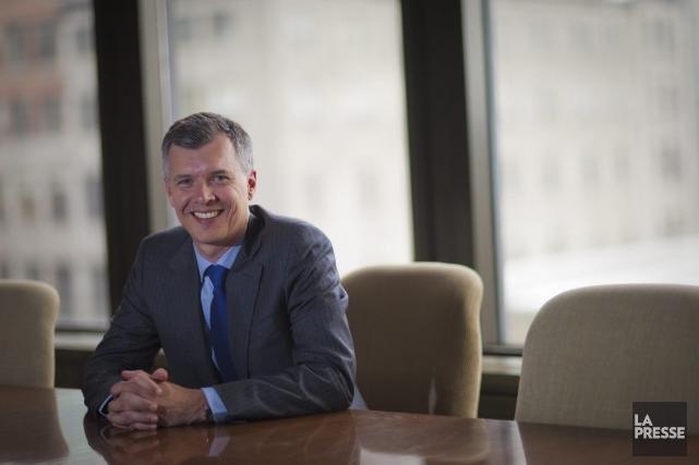Alain Miquelon, PDG de la Bourse de Montréal.... (PHOTO ANDRE PICHETTE, LA PRESSE)